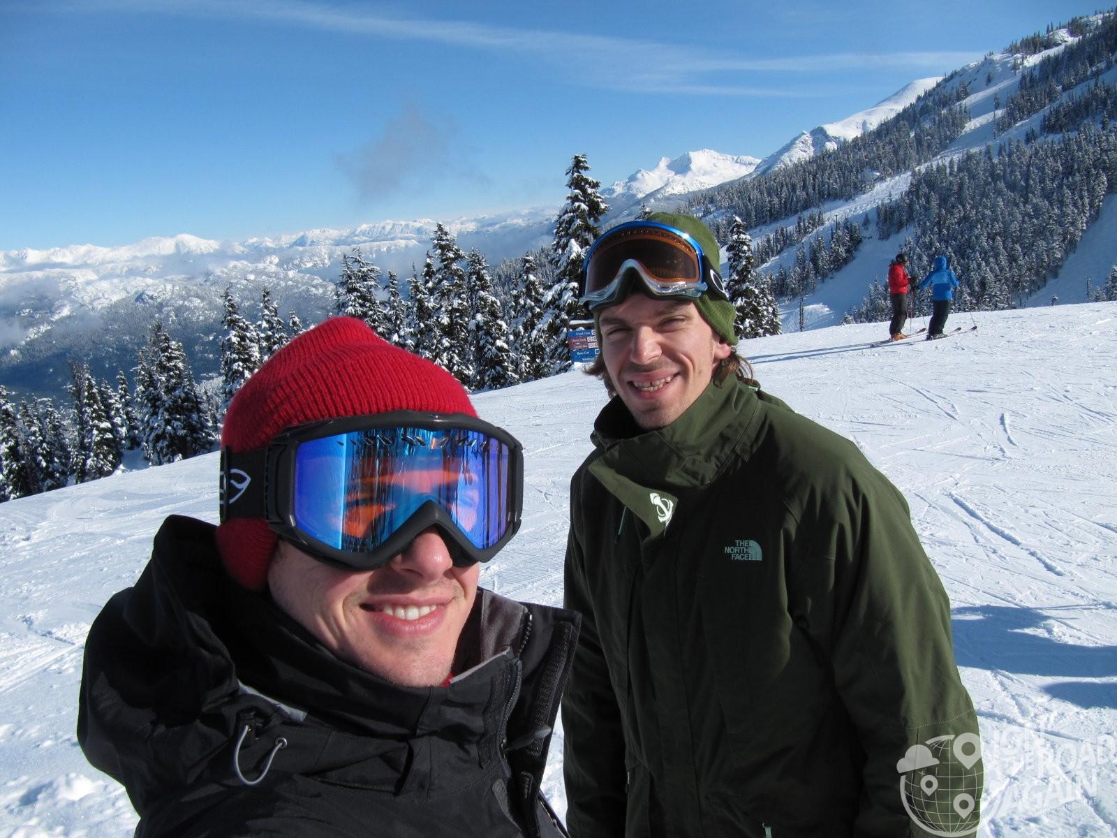 Jonathan and Adam at Whistler