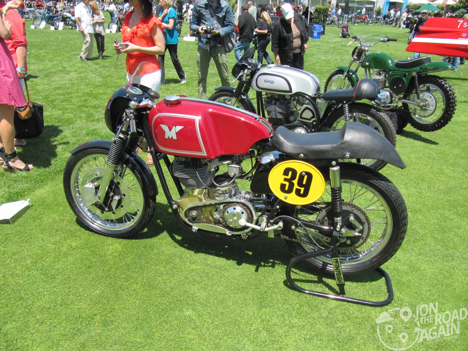 Mondial Motorcycle at the Quail