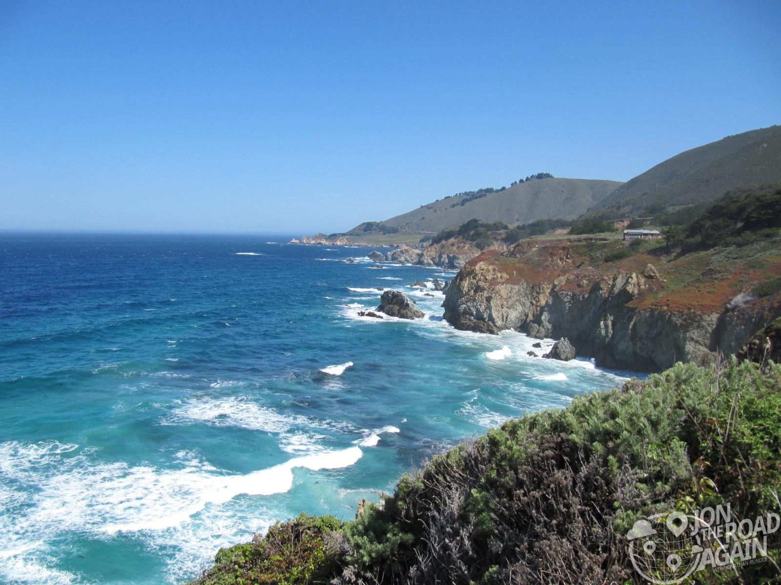 California Coast on Highway 1