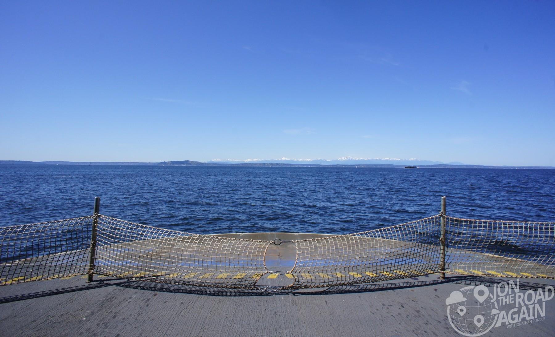 Washington State Ferry Deck