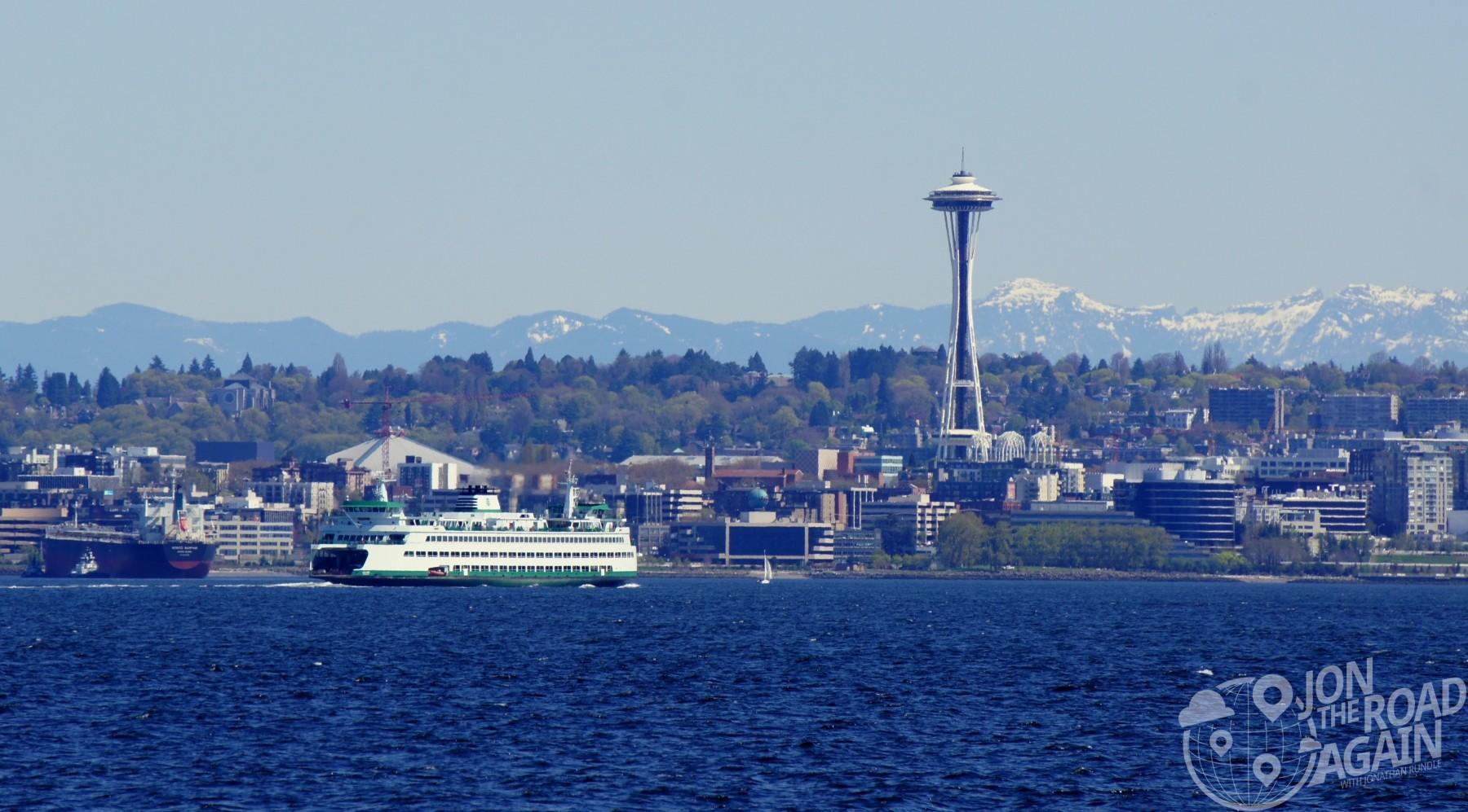 Washington State Ferry Seattle