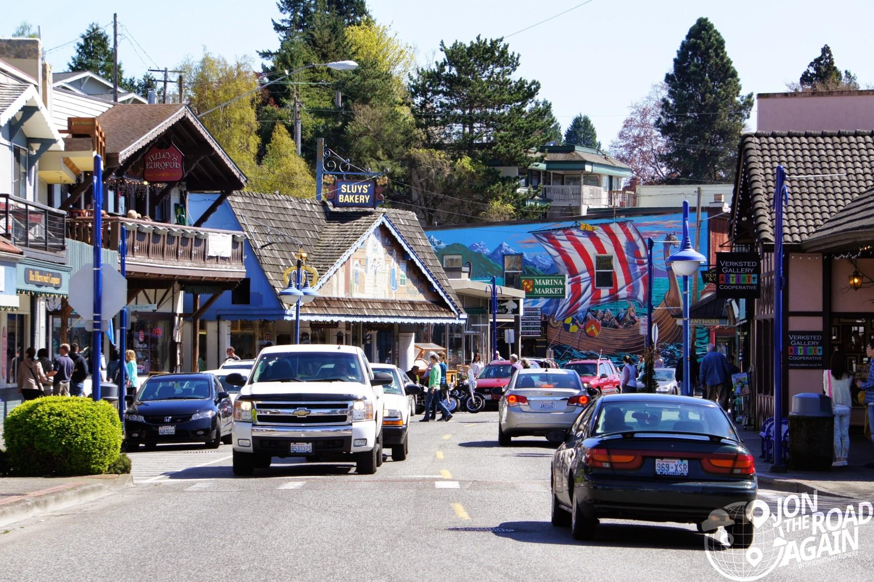 Main street of Poulsbo