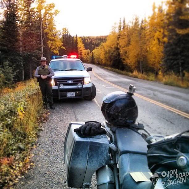 speeding in Denali