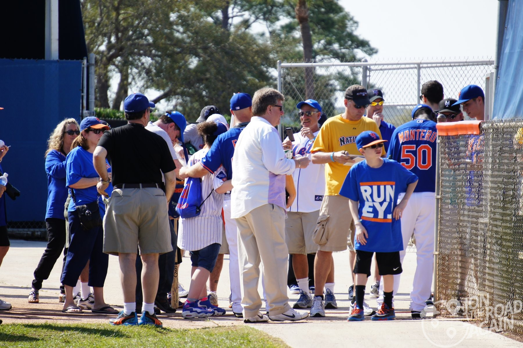 Autographs at Tradition Field