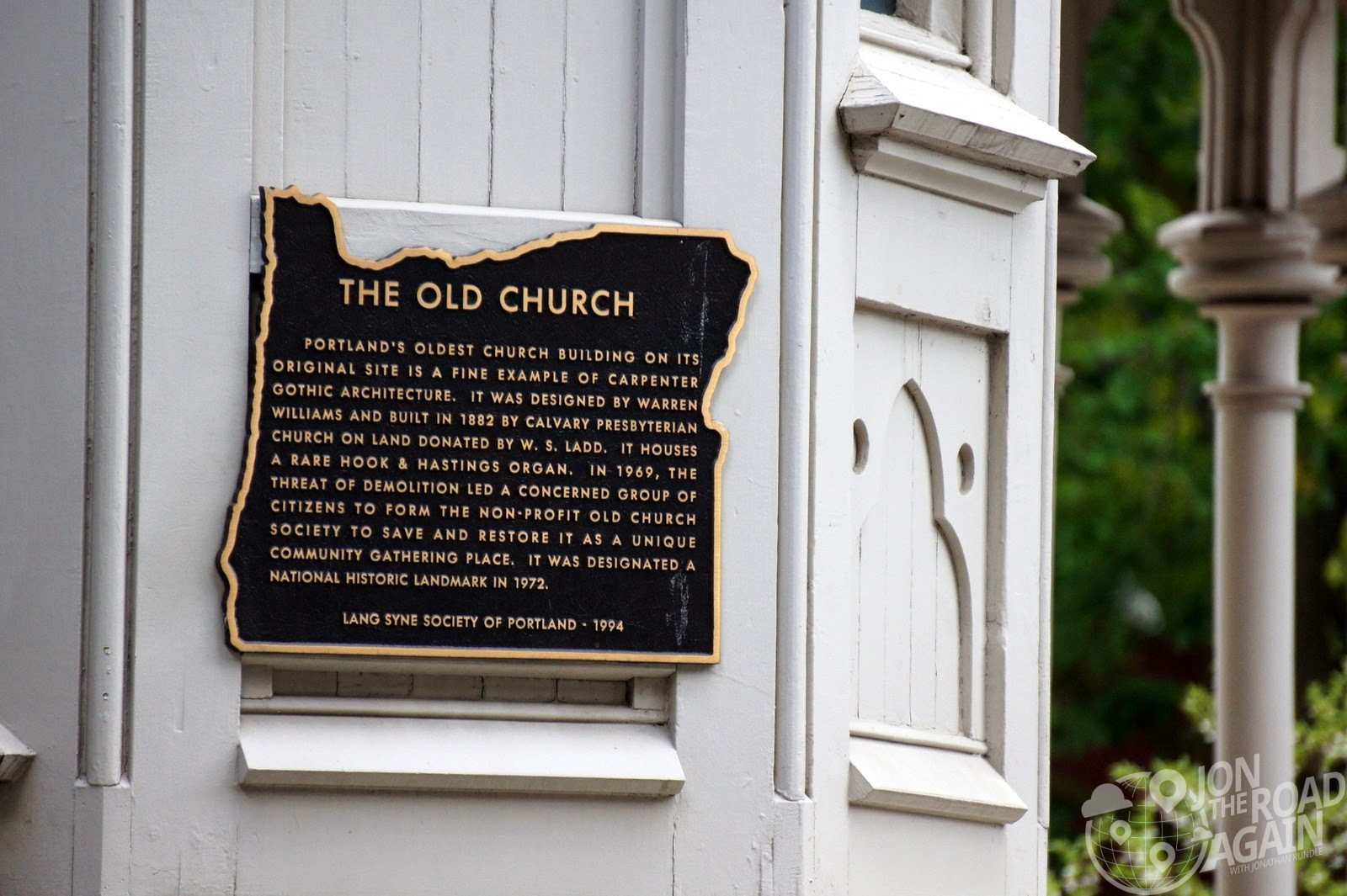 The old church, portland, or