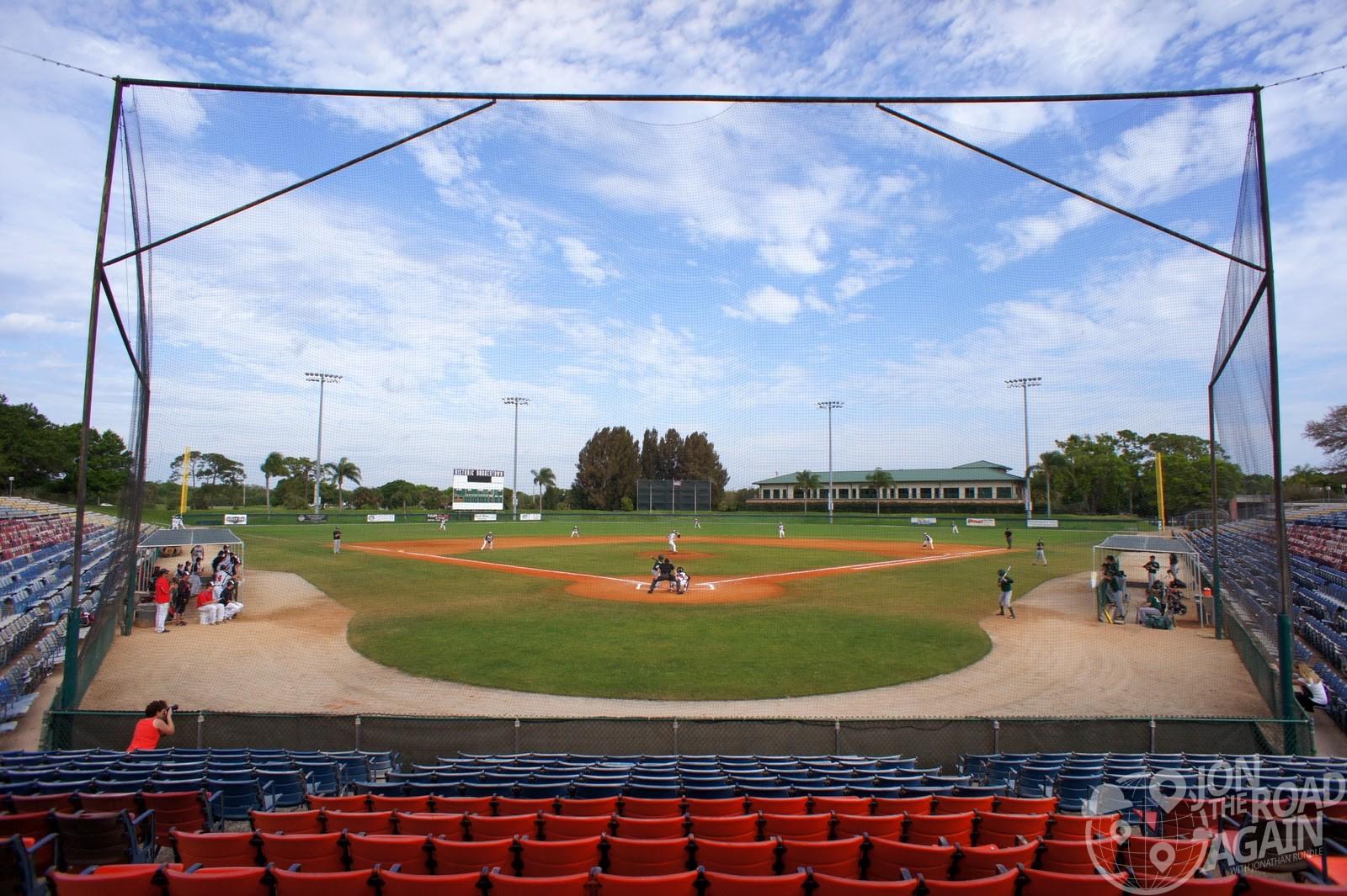 Holman Stadium at Dodgertown