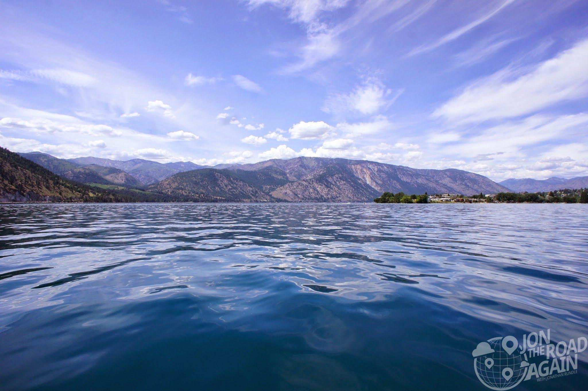 Deep and Wide Lake Chelan