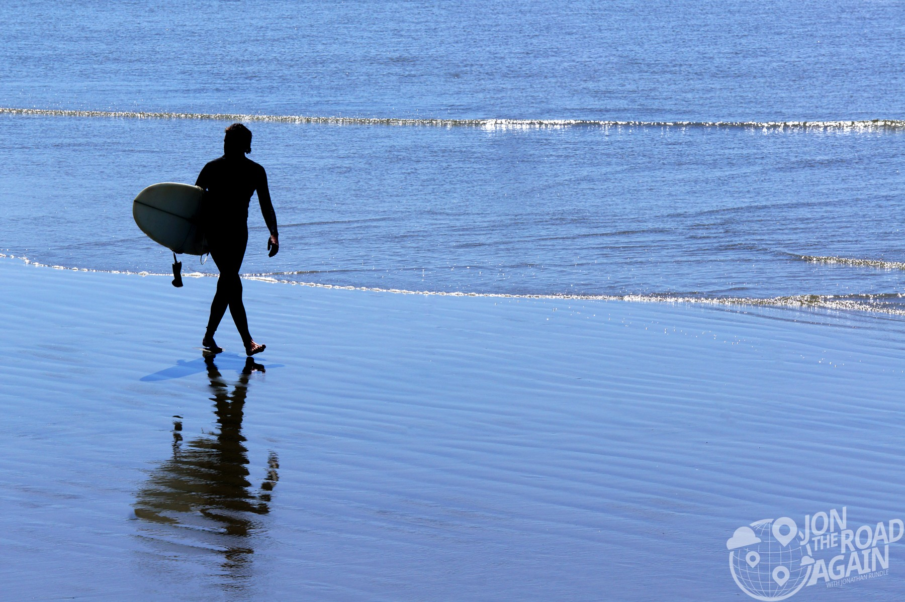 Surfer in Tofino