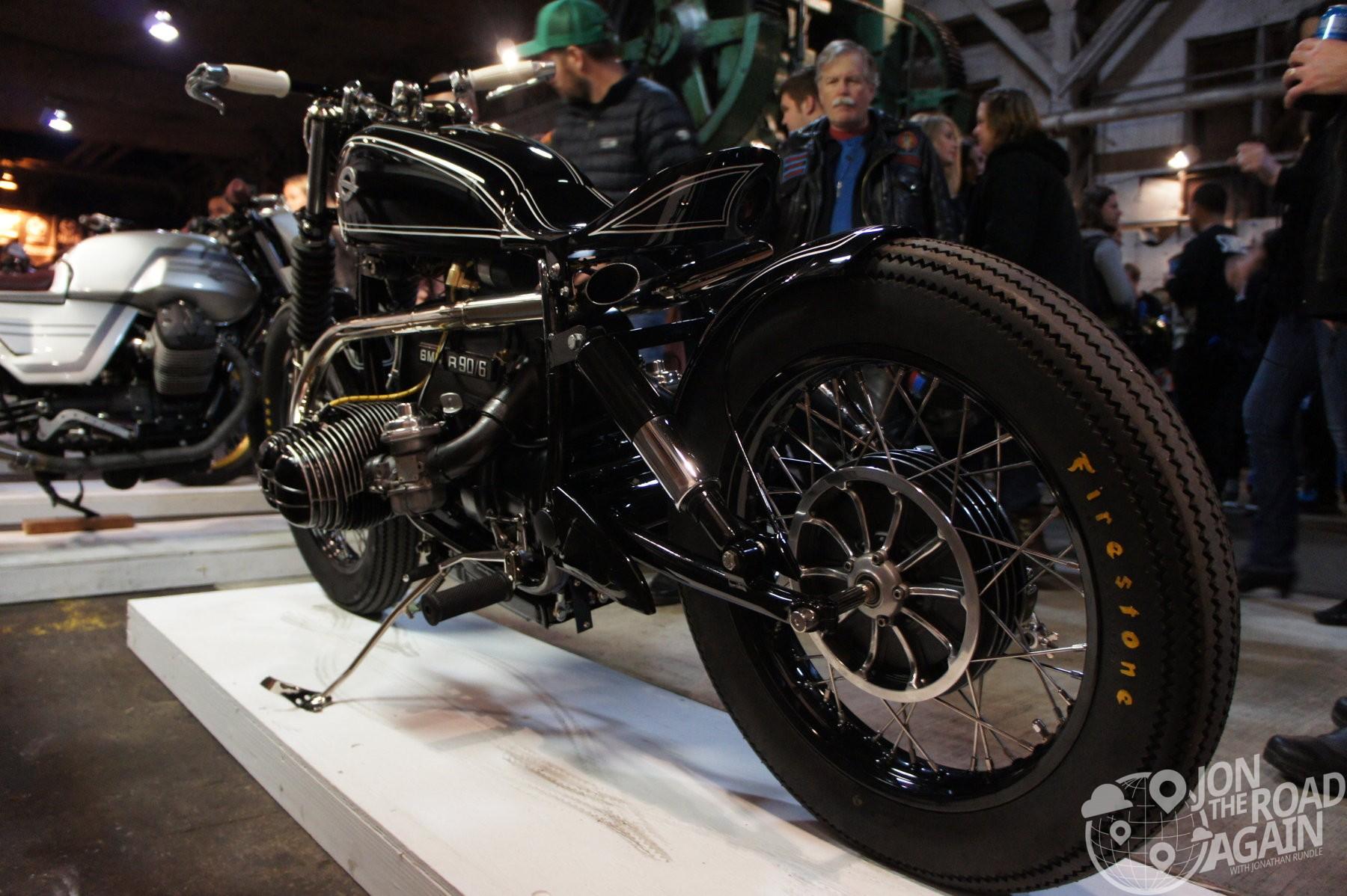 Custom BMW at The One Moto