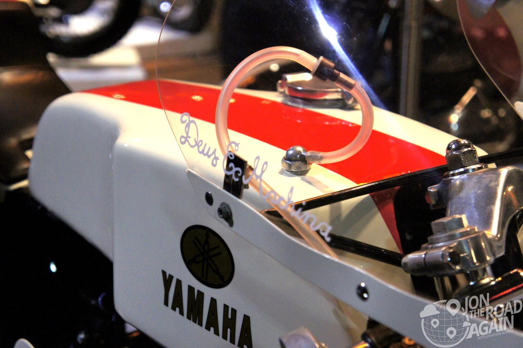 Yamaha racer built by Deus
