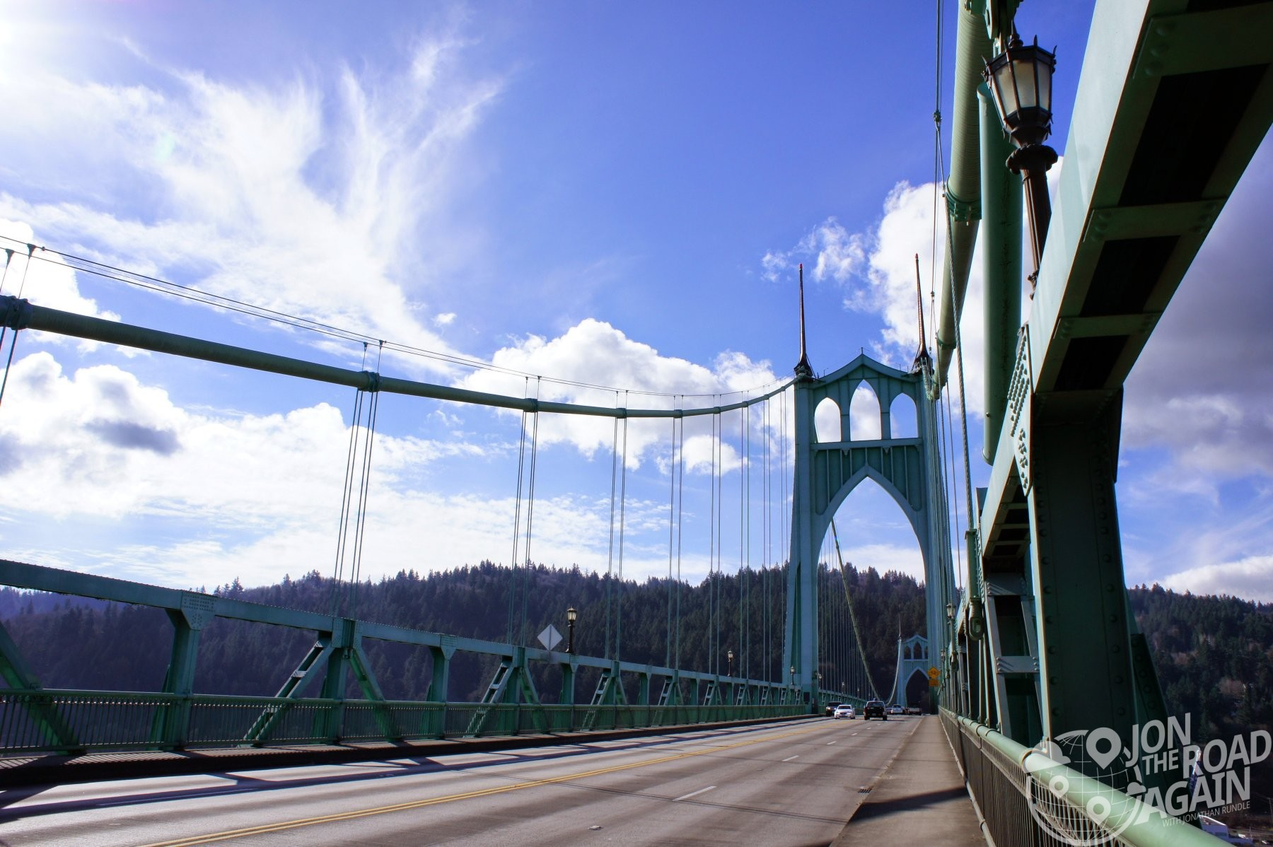 St. John's Bridge in Portland