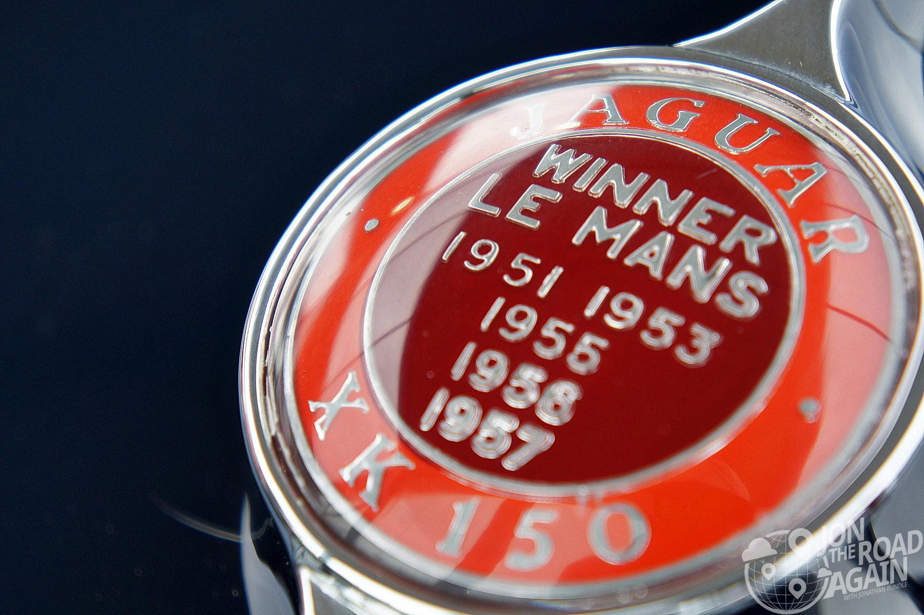 Jaguar Le Mans Winner Badge