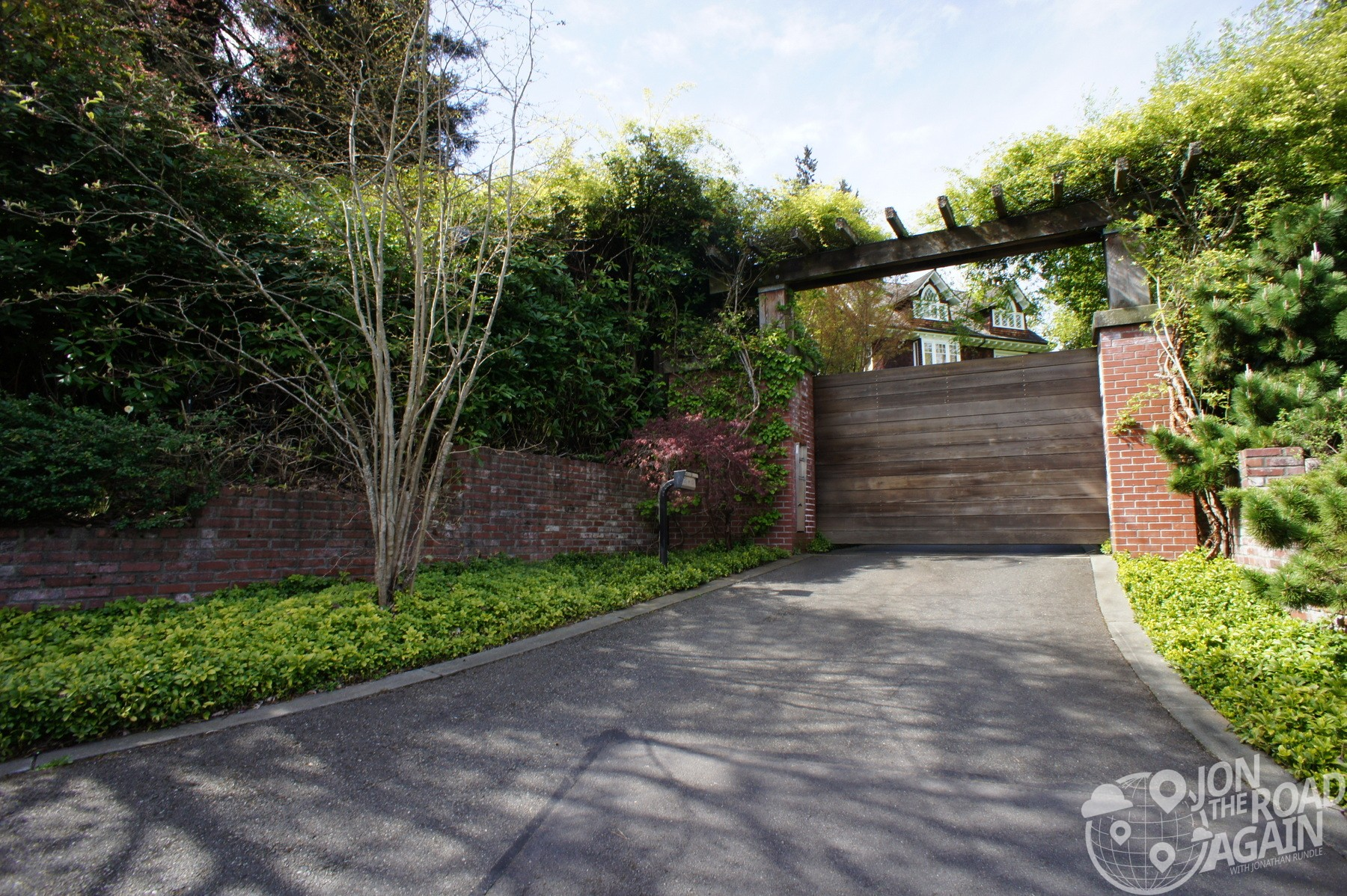Entrance to Kurt Cobain's old house