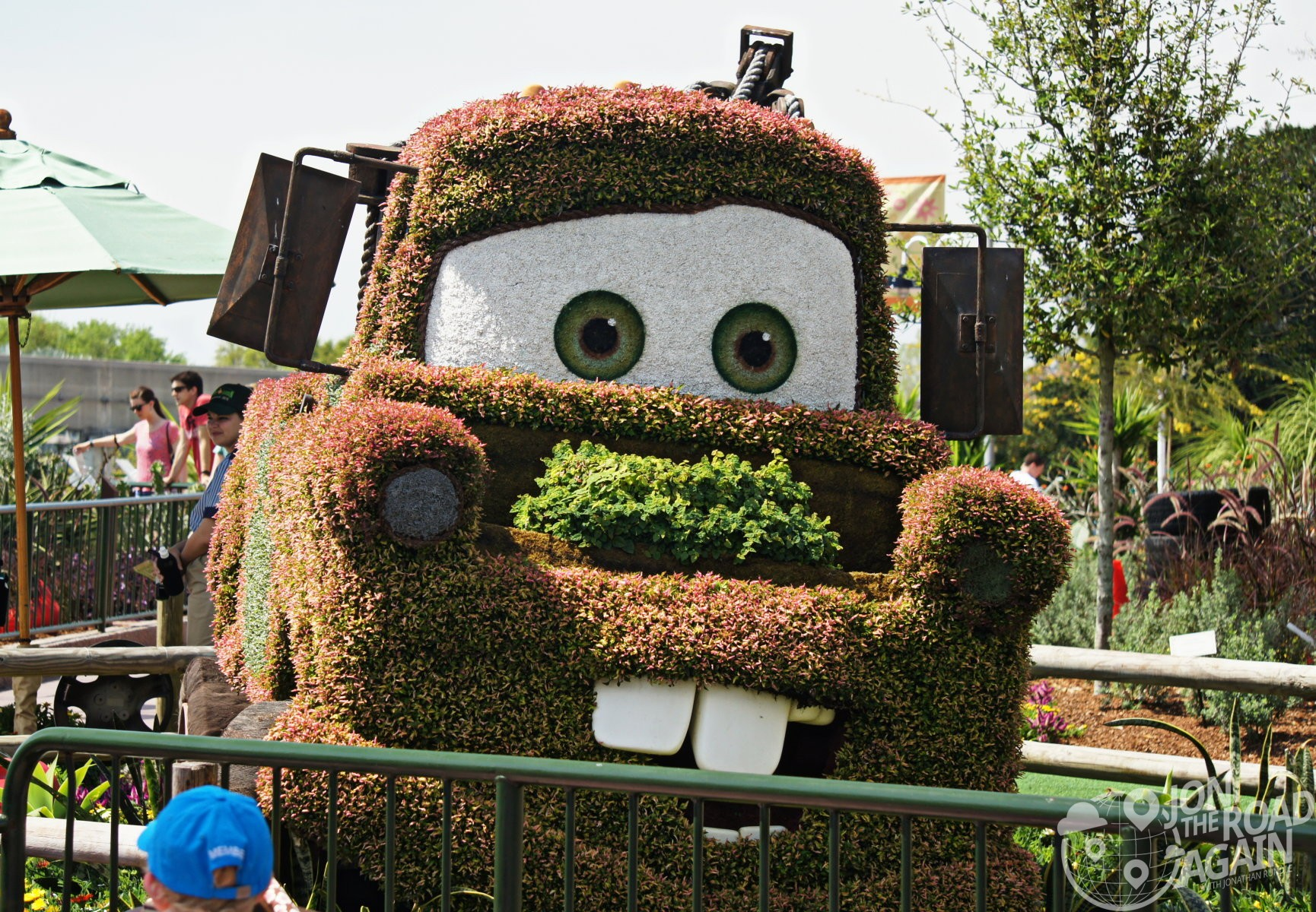 Epcot Flower and Garden Festival - Jon the Road Again - Travel and ...