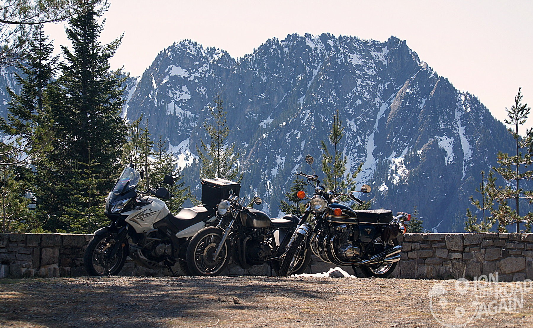 Just the bikes