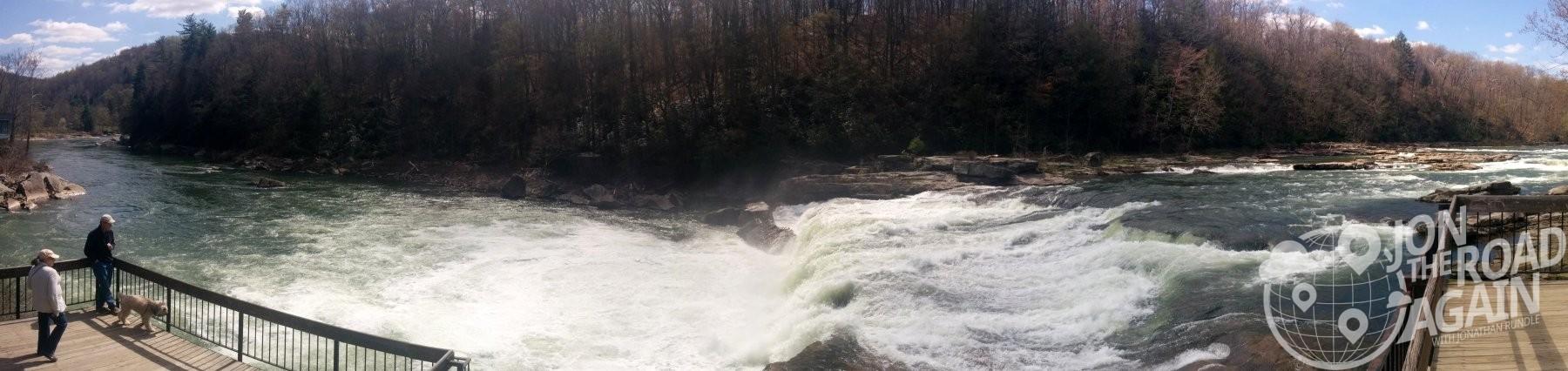 Ohiopyle Falls Panorama