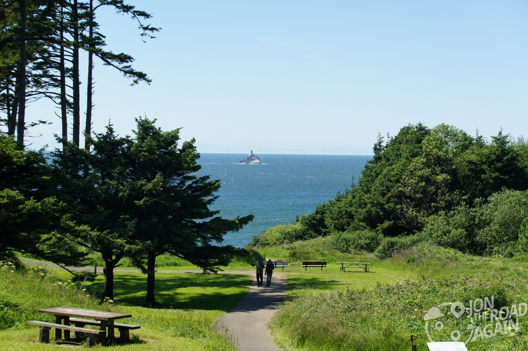 Ecola State Park Path