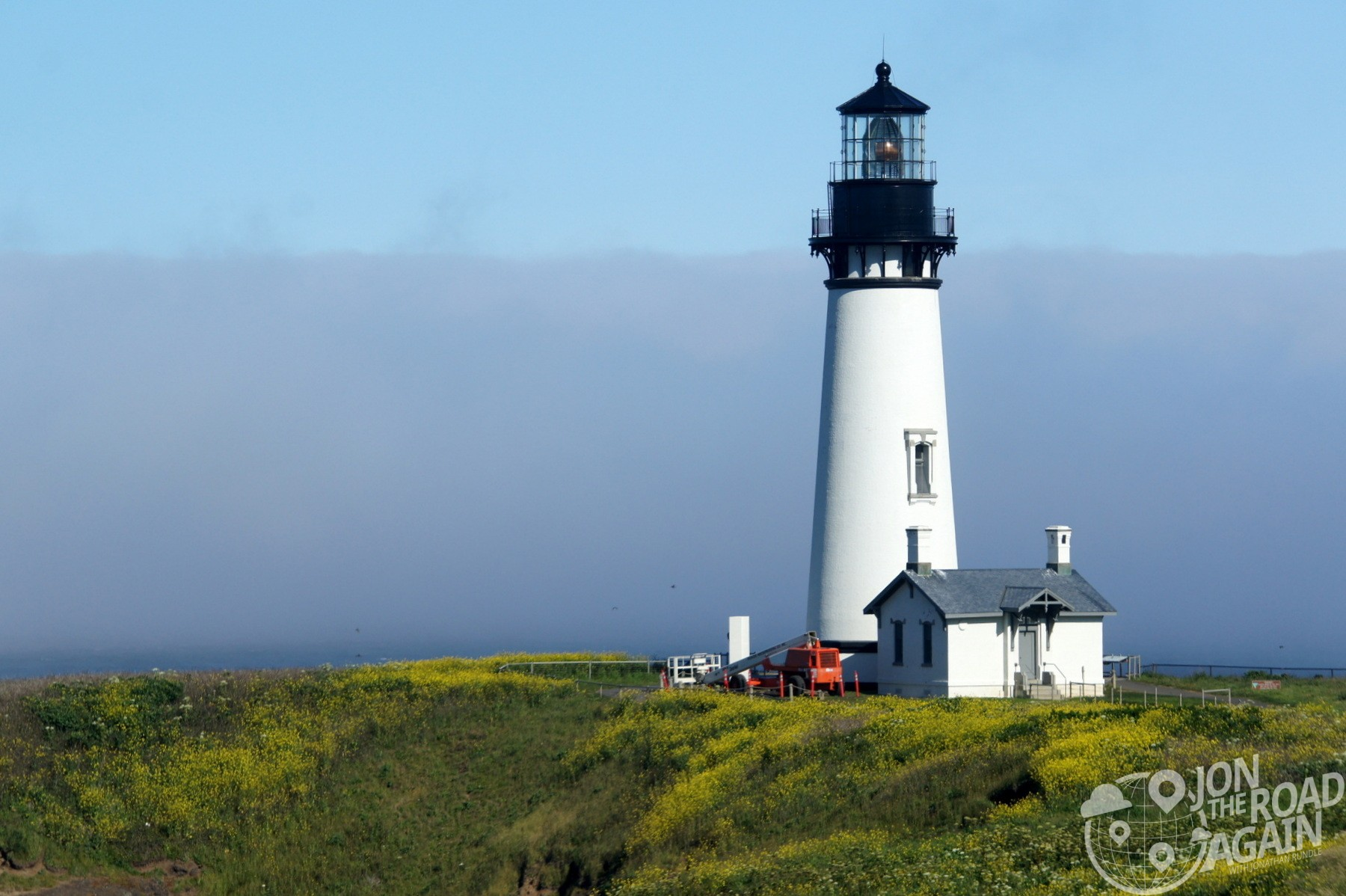 Yaquina Head Lighthouse Close up