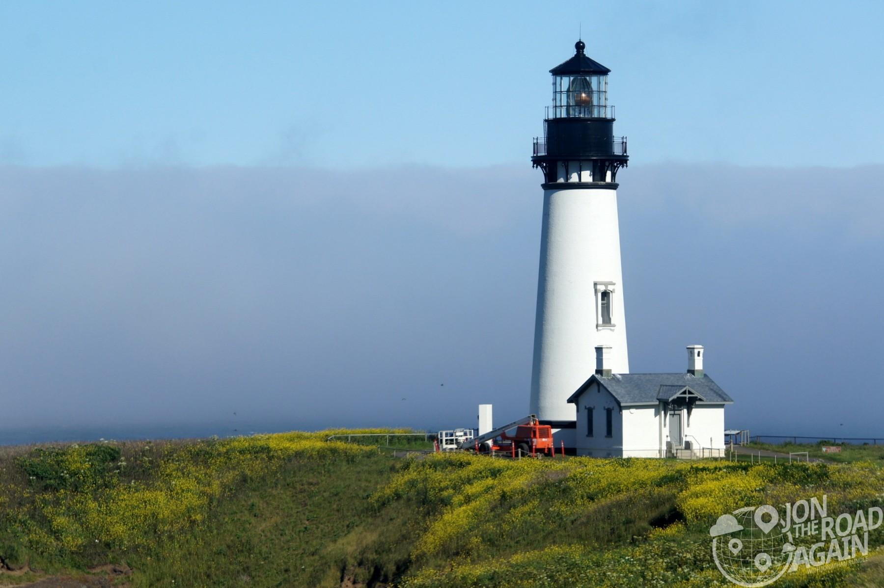 Yaquina Head Lighthouse Close up