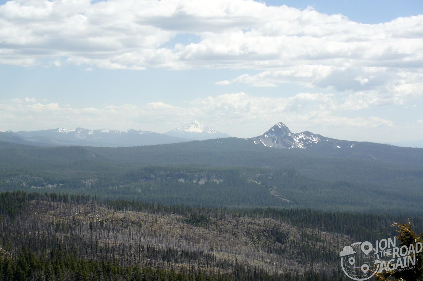 Union Peak and Mount McLoughlin