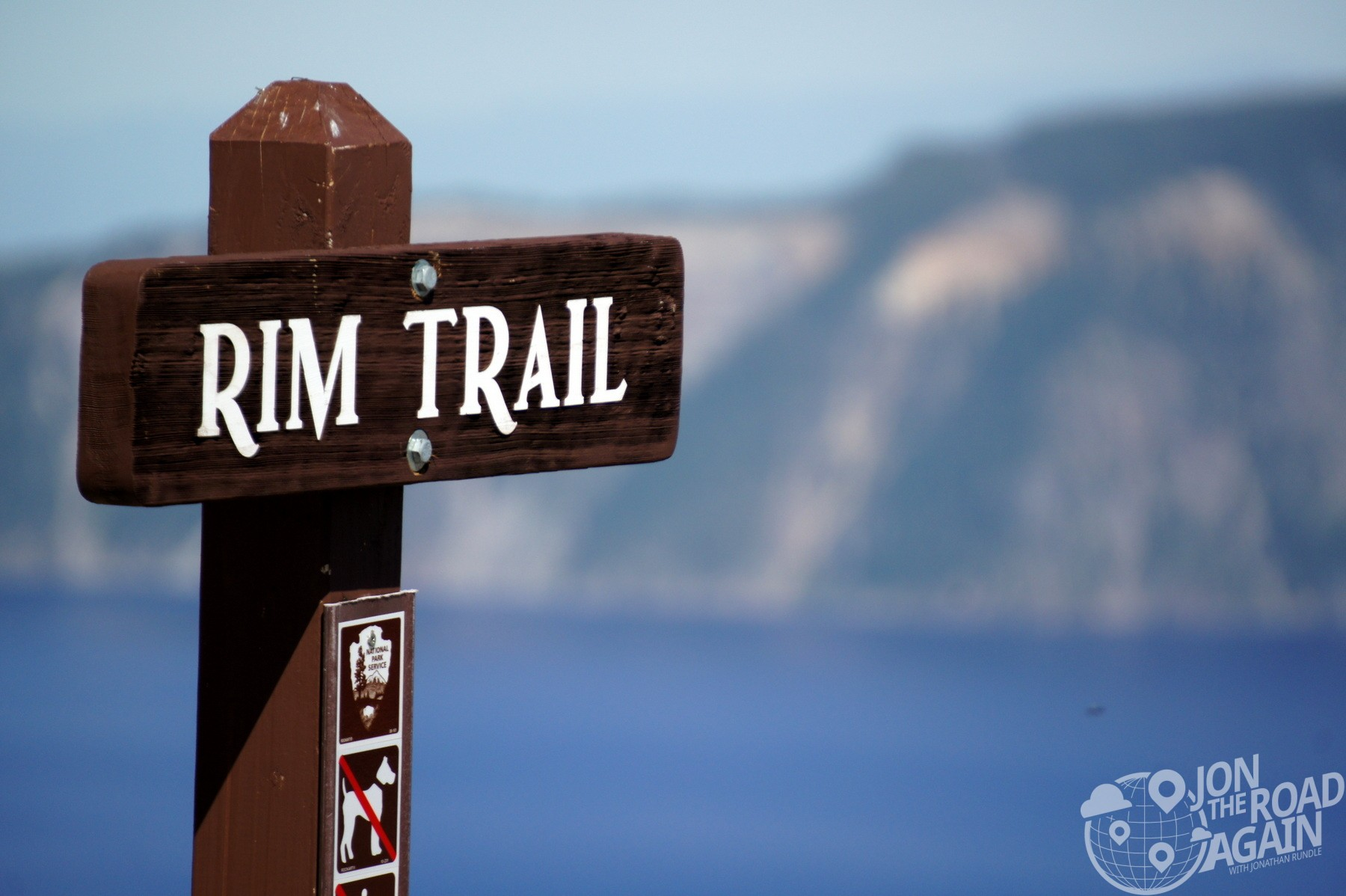 Rim Trail at Crater Lake