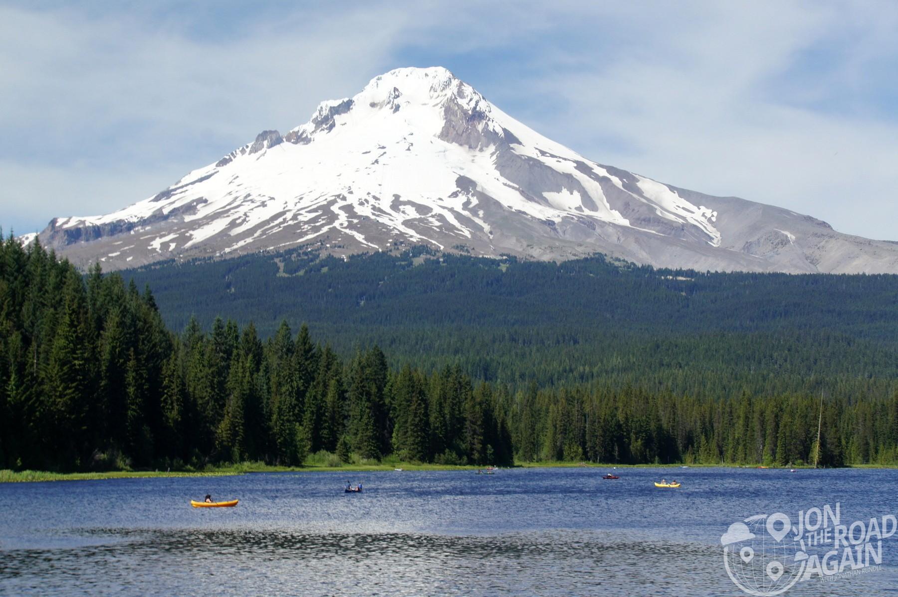 Mount Hood from Trillium Lake