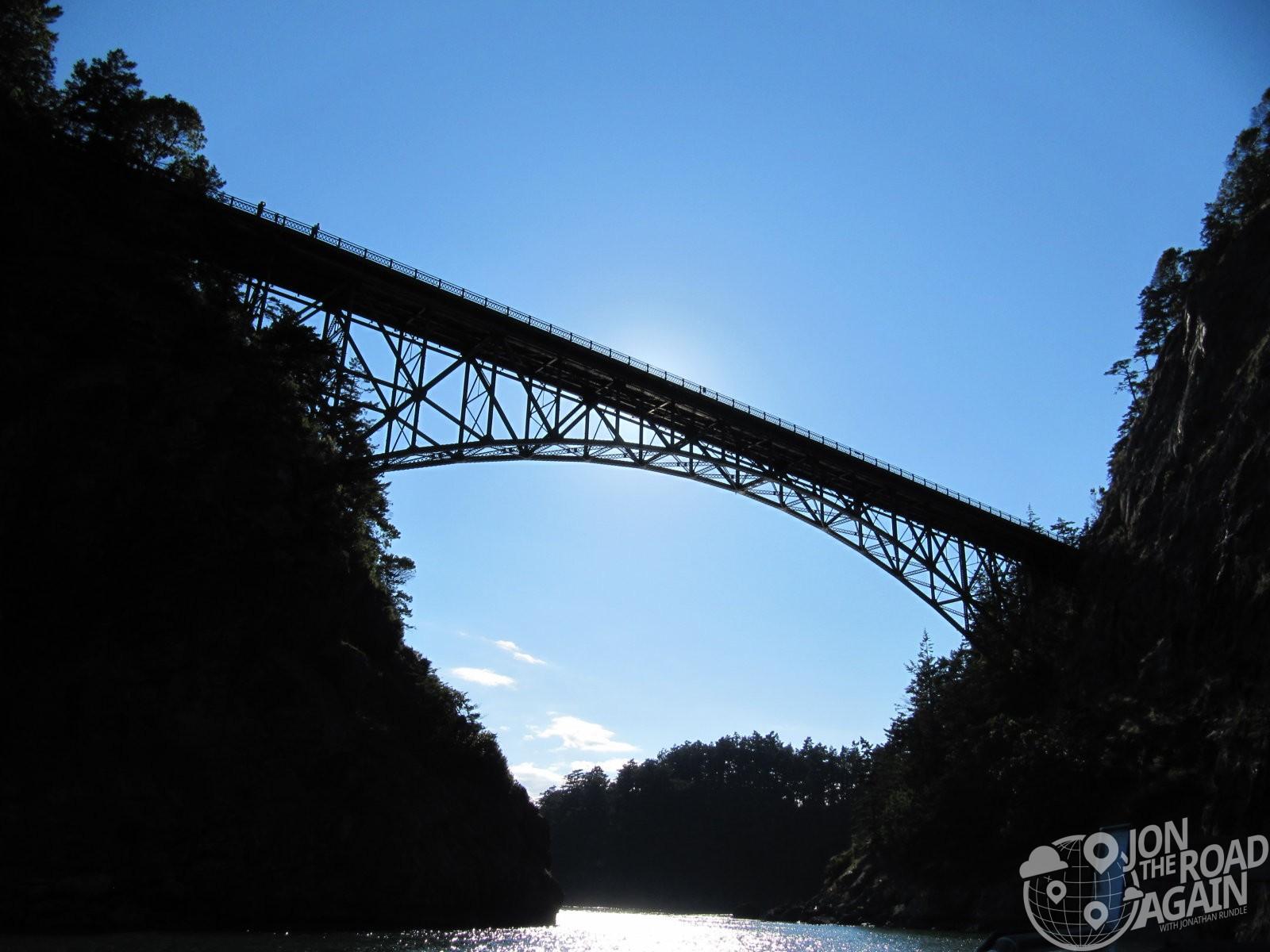 Under Deception Pass Bridge