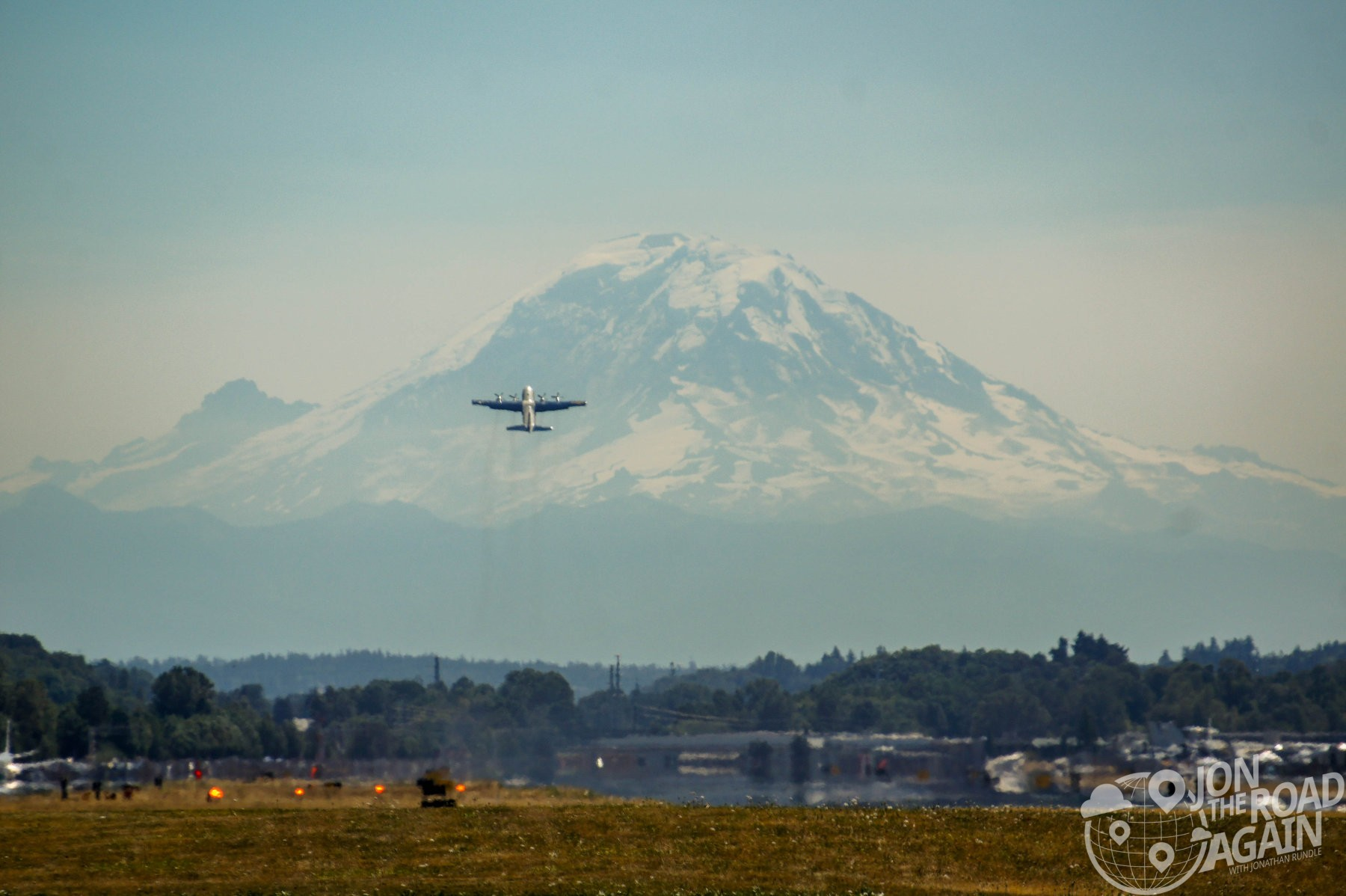 Fat Albert and Mount Rainier
