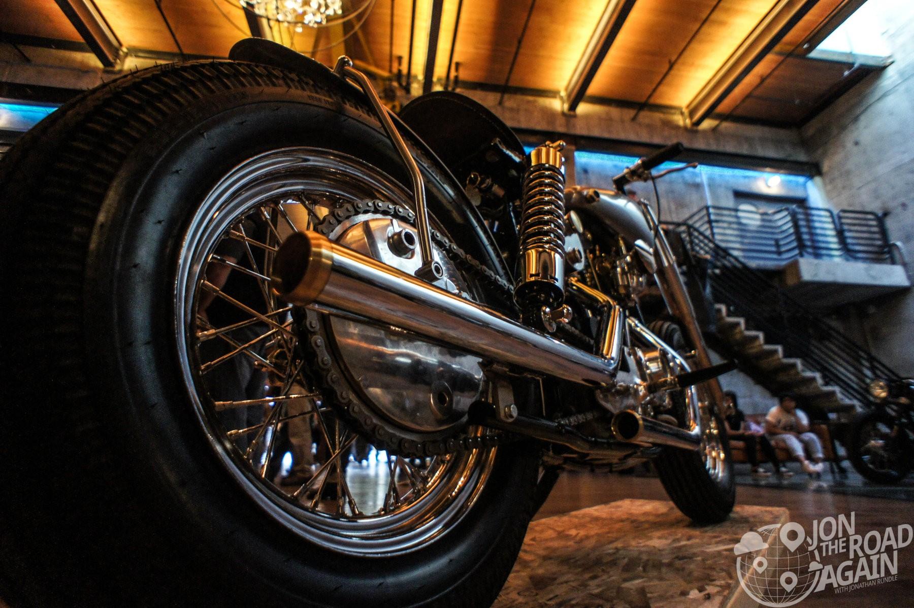 Mitch Sander's Harley