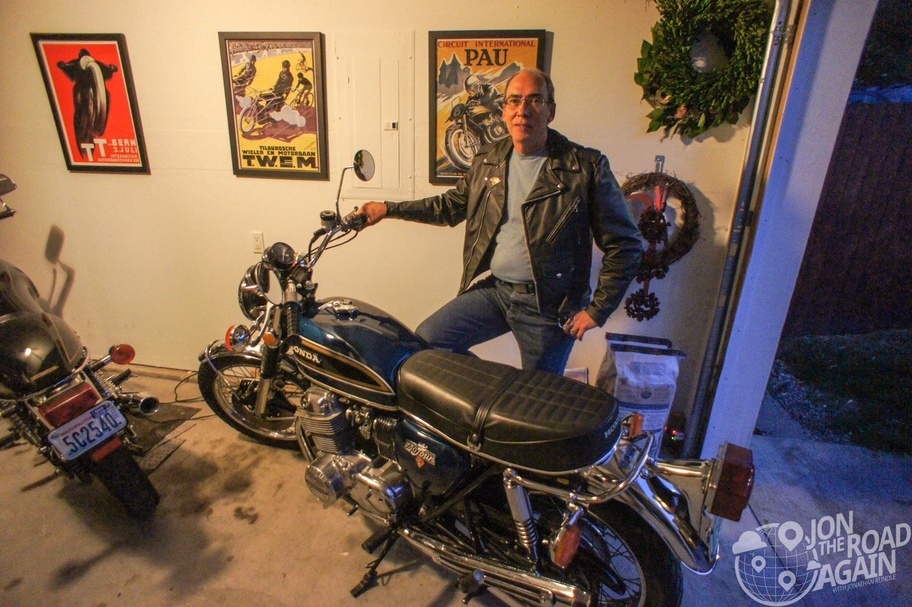 Dad with my CB750
