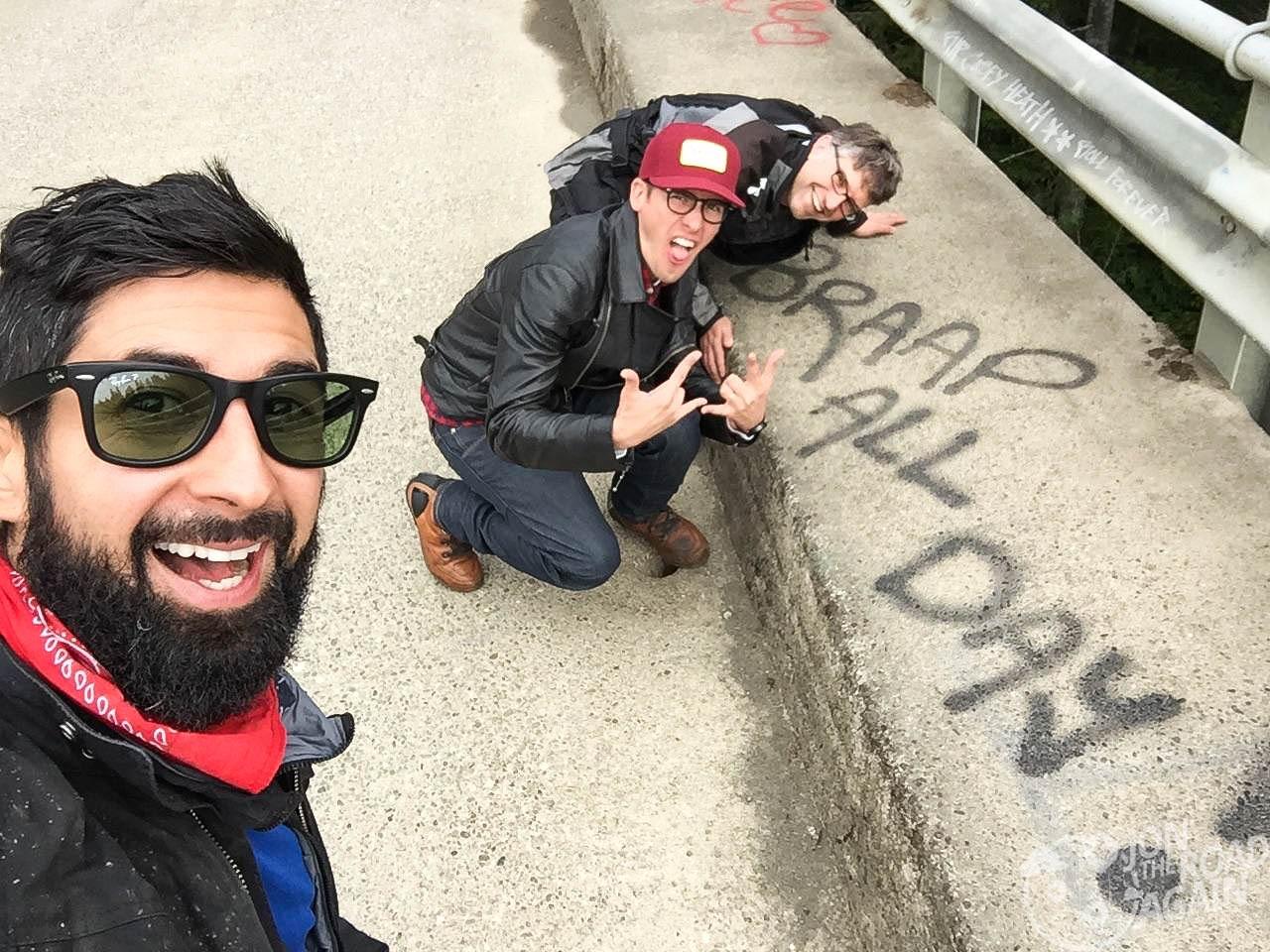 High Steel Bridge Selfie
