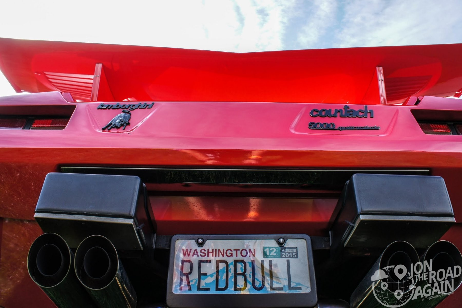 Red Bull Countach