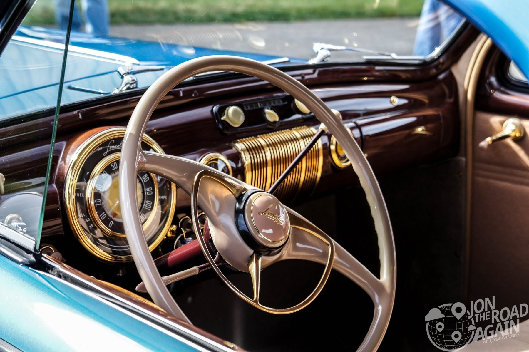 Lincoln Zephyr Interior