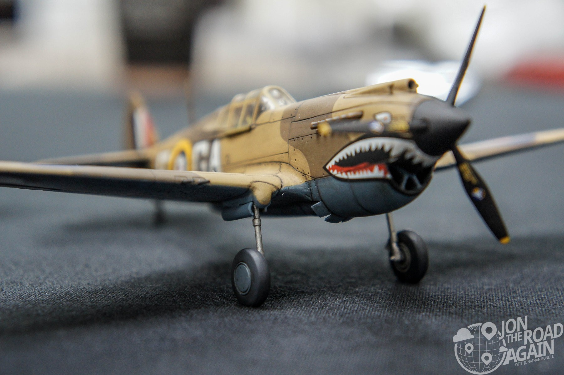 Model builders at Flying Heritage Collection