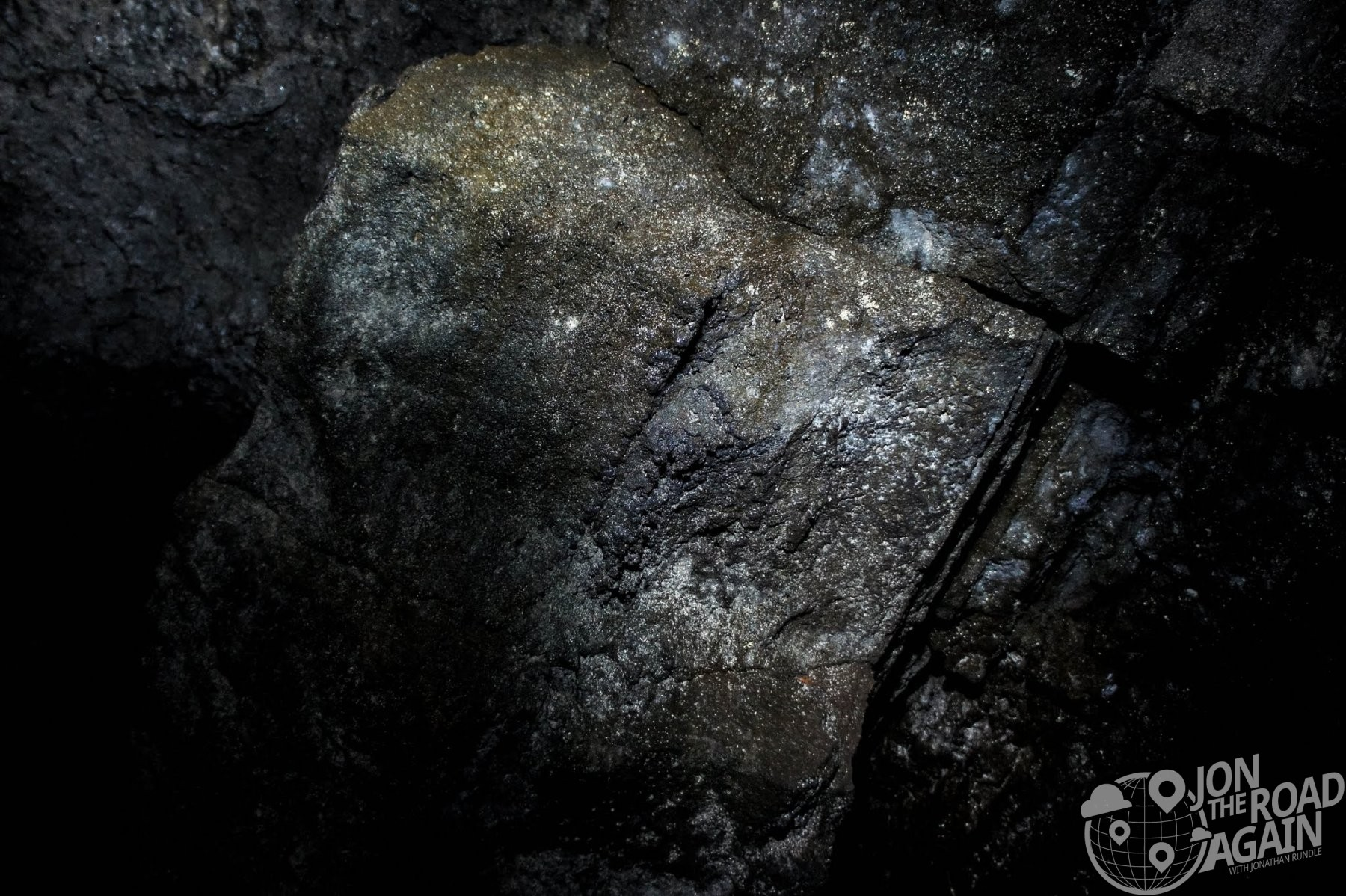 Ape Cave near Mount St. Helens