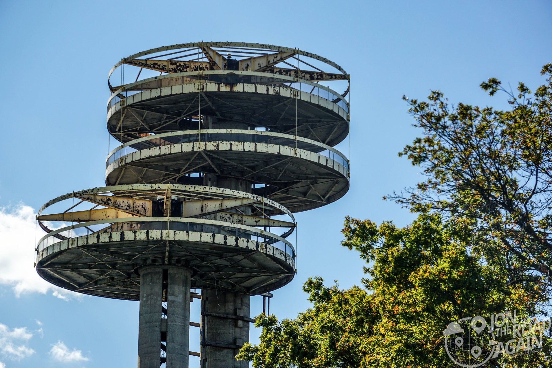 New York Pavilion Observation Towers