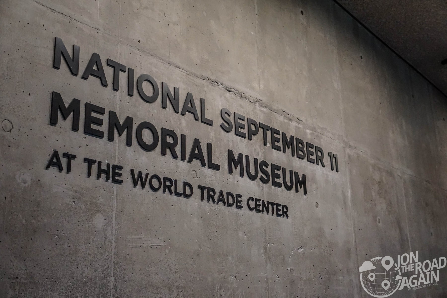 September 11th Memorial Sign