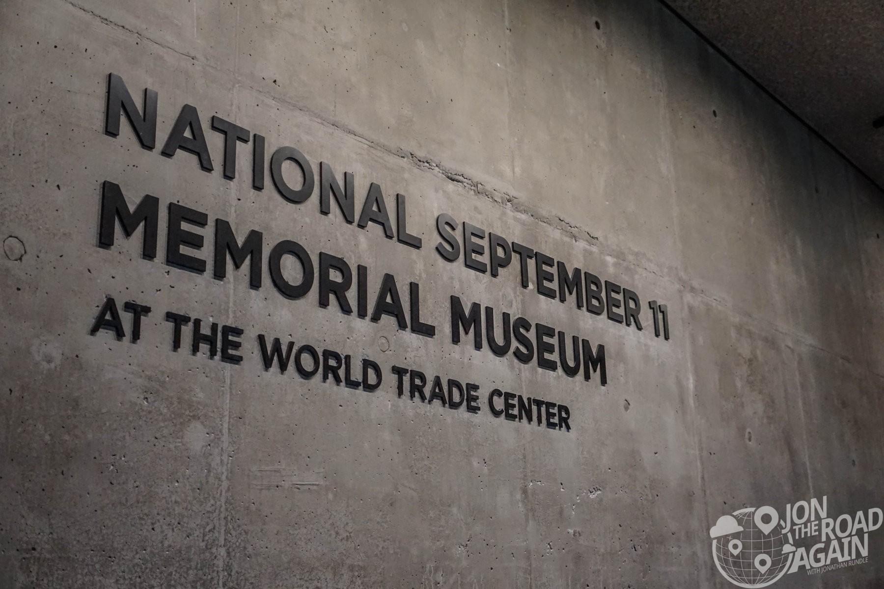 September 11th Memorial Sign