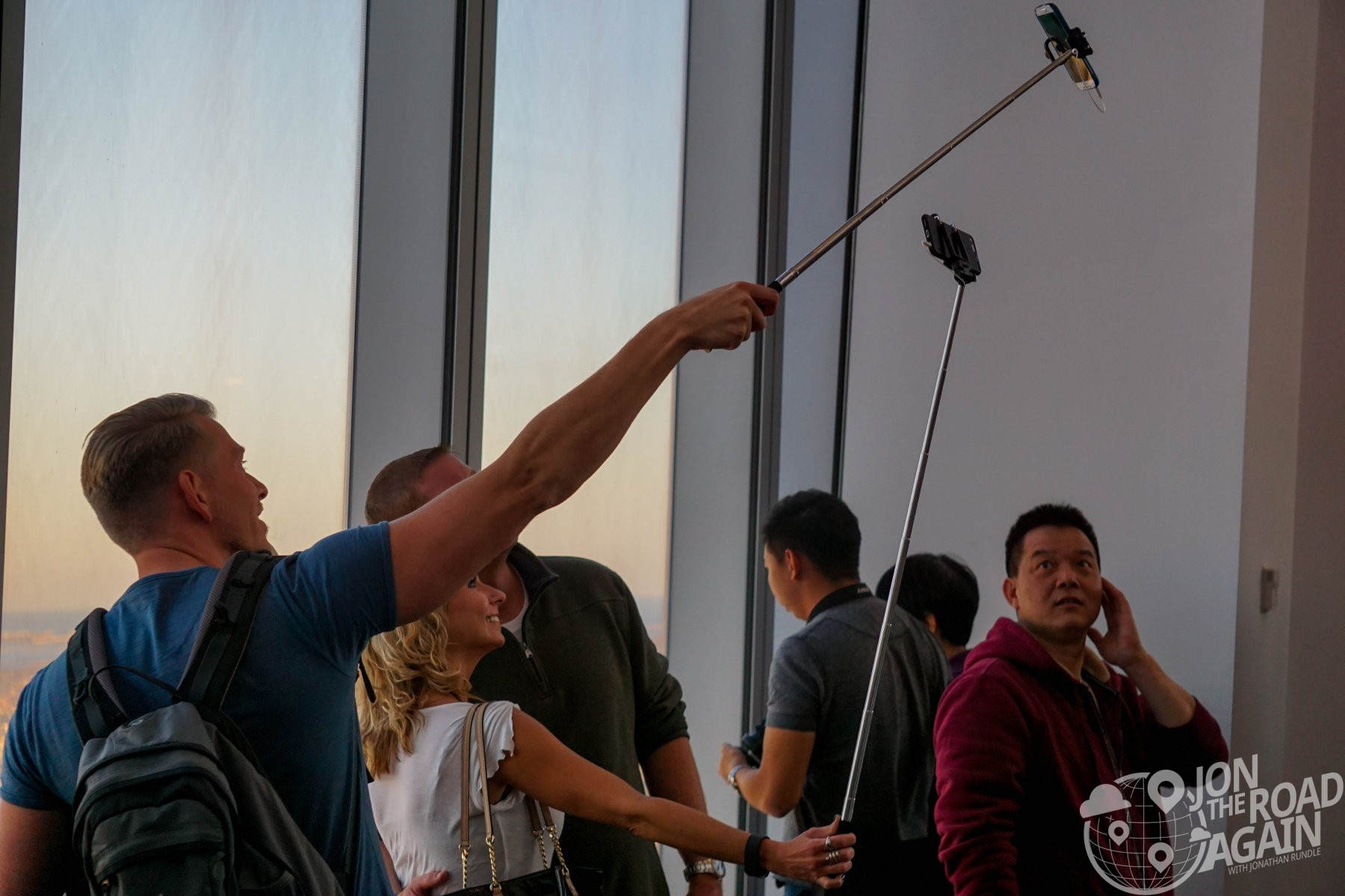 Selfie Sticks at One World Observatory