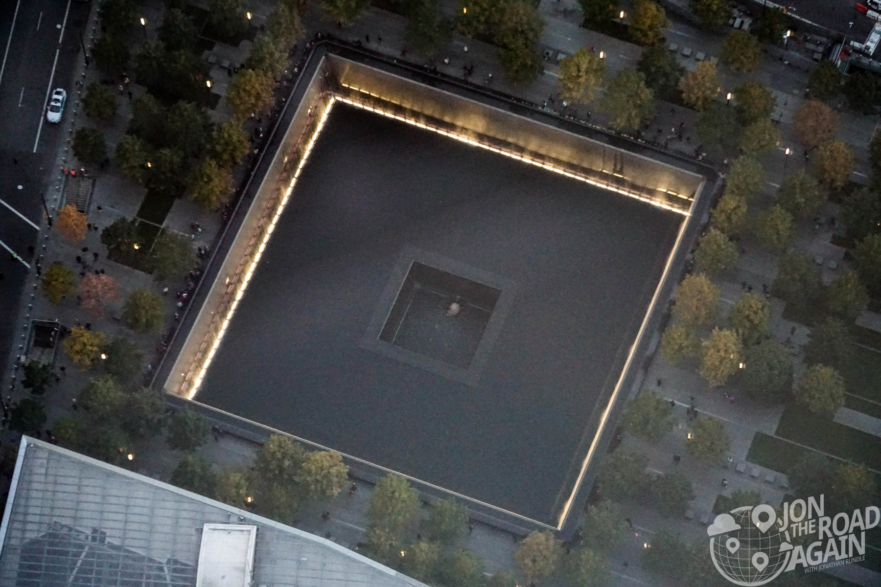 September 11th Memorial footprint