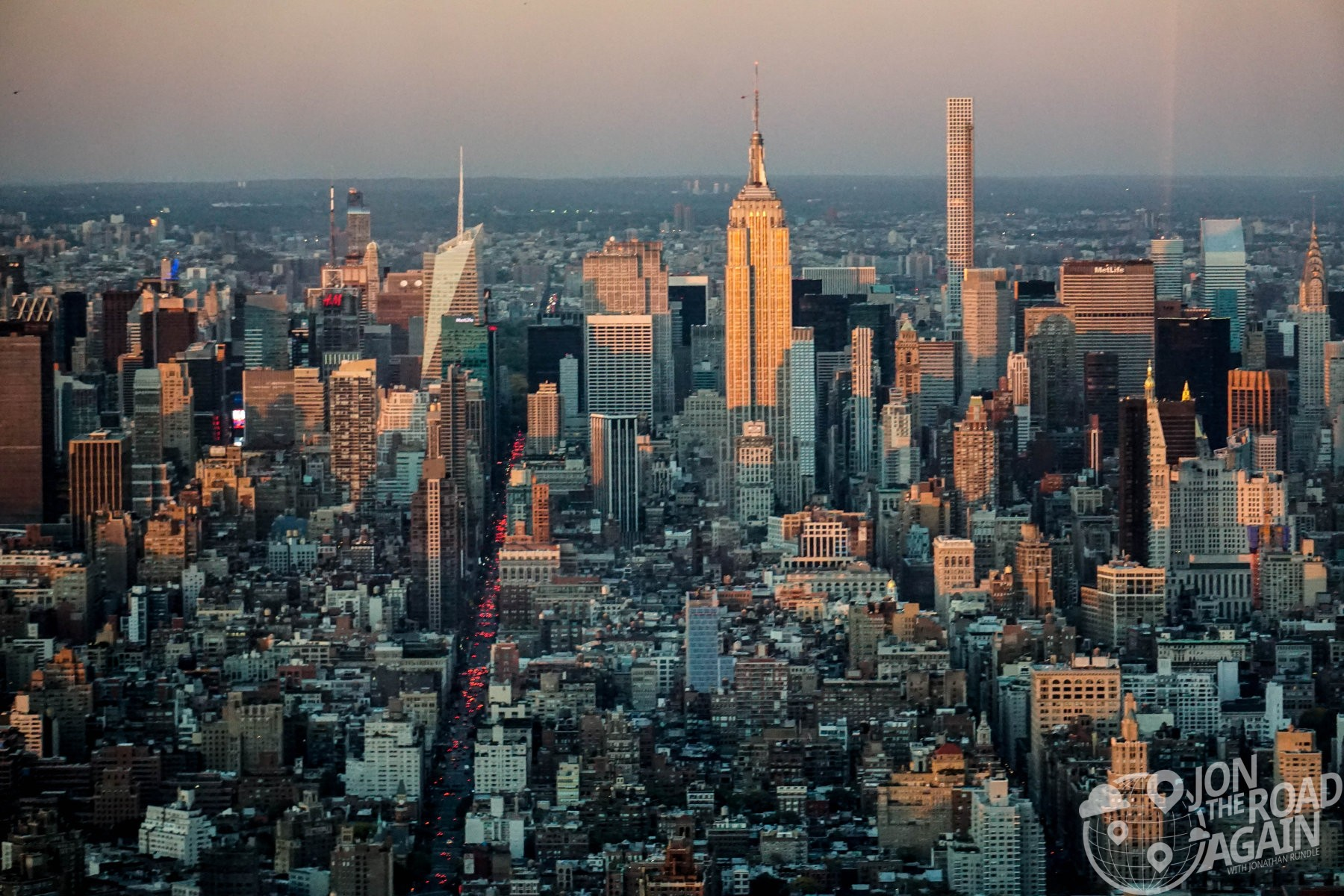 Midtown from One World Observatory