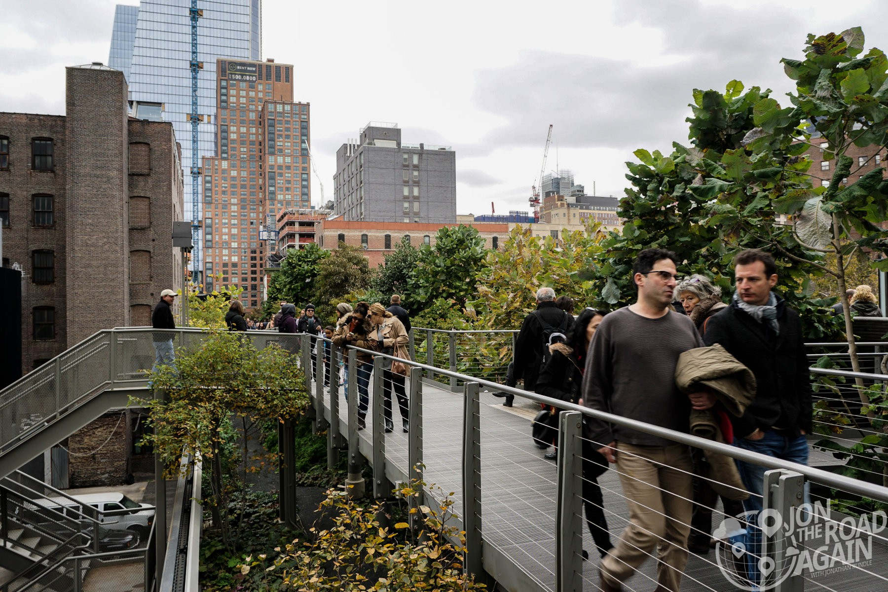Strolling the high line