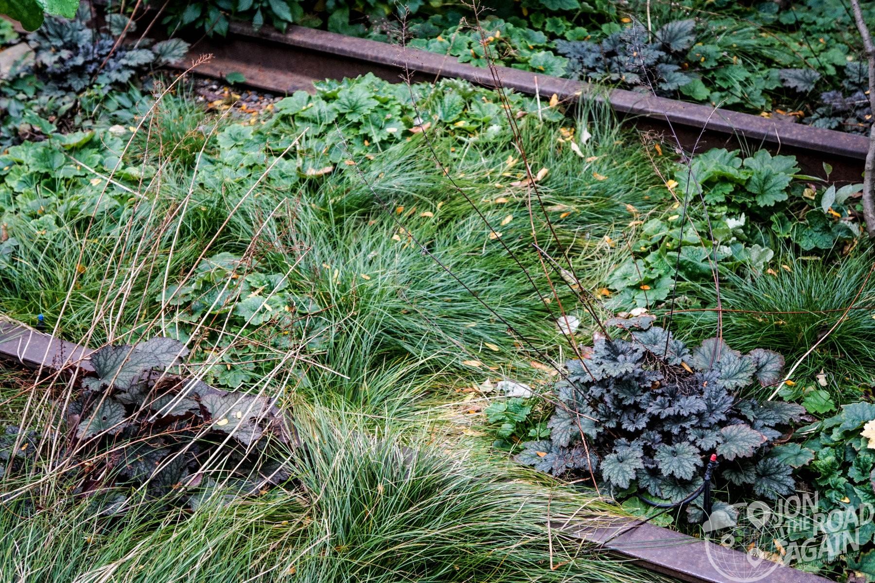 High Line Park Rails