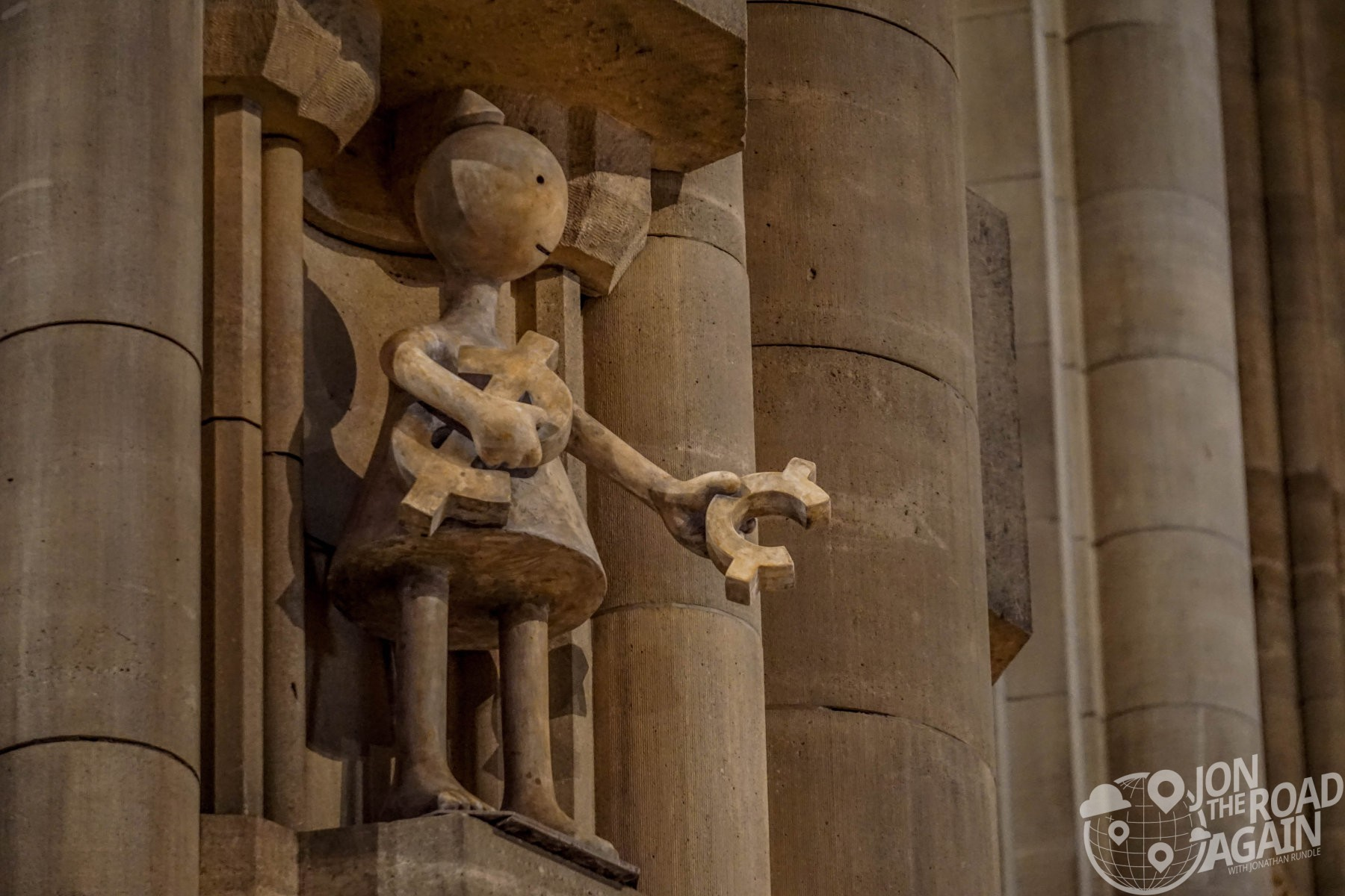 Cathedral of St. John the Divine Tom Otterness