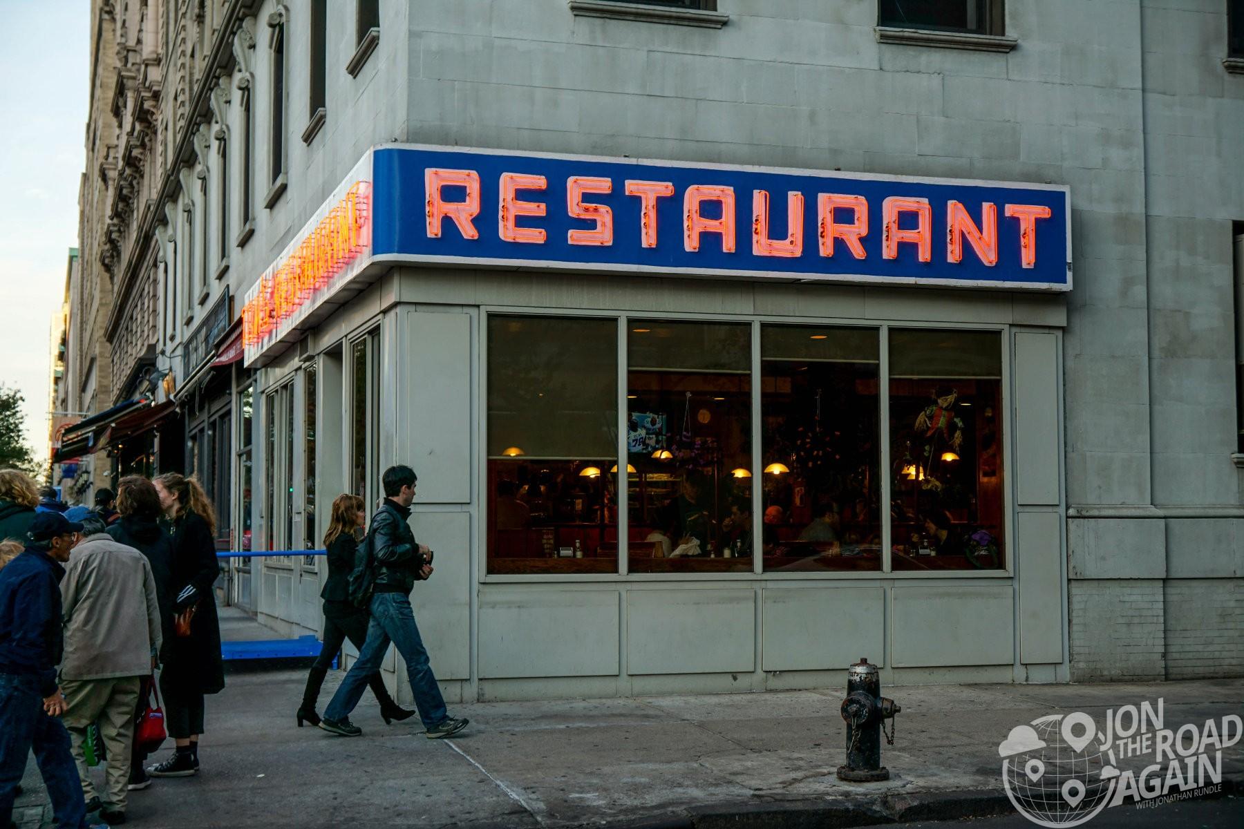 Tom's Restaurant AKA Monks from Seinfeld