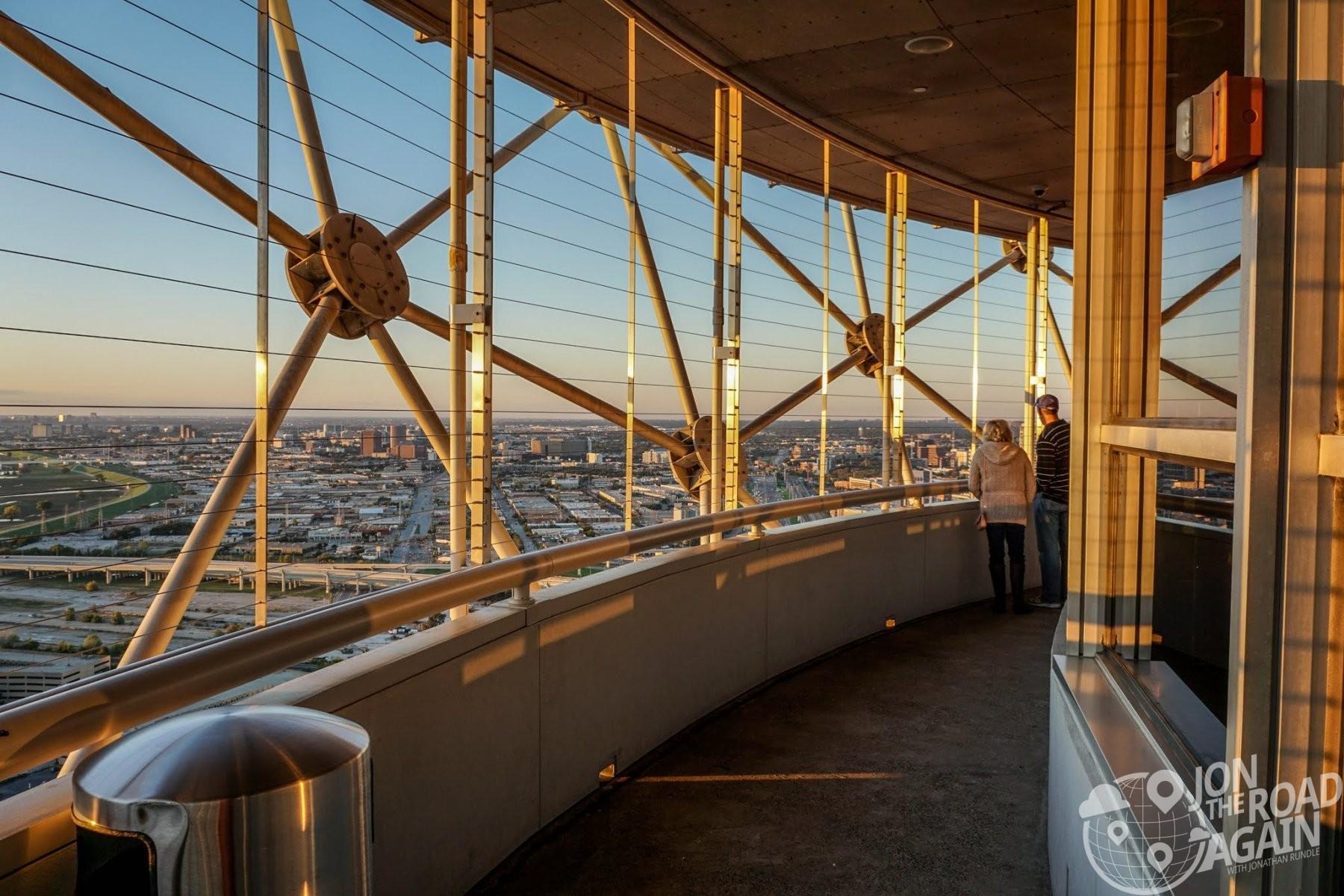 Outdoor observation deck