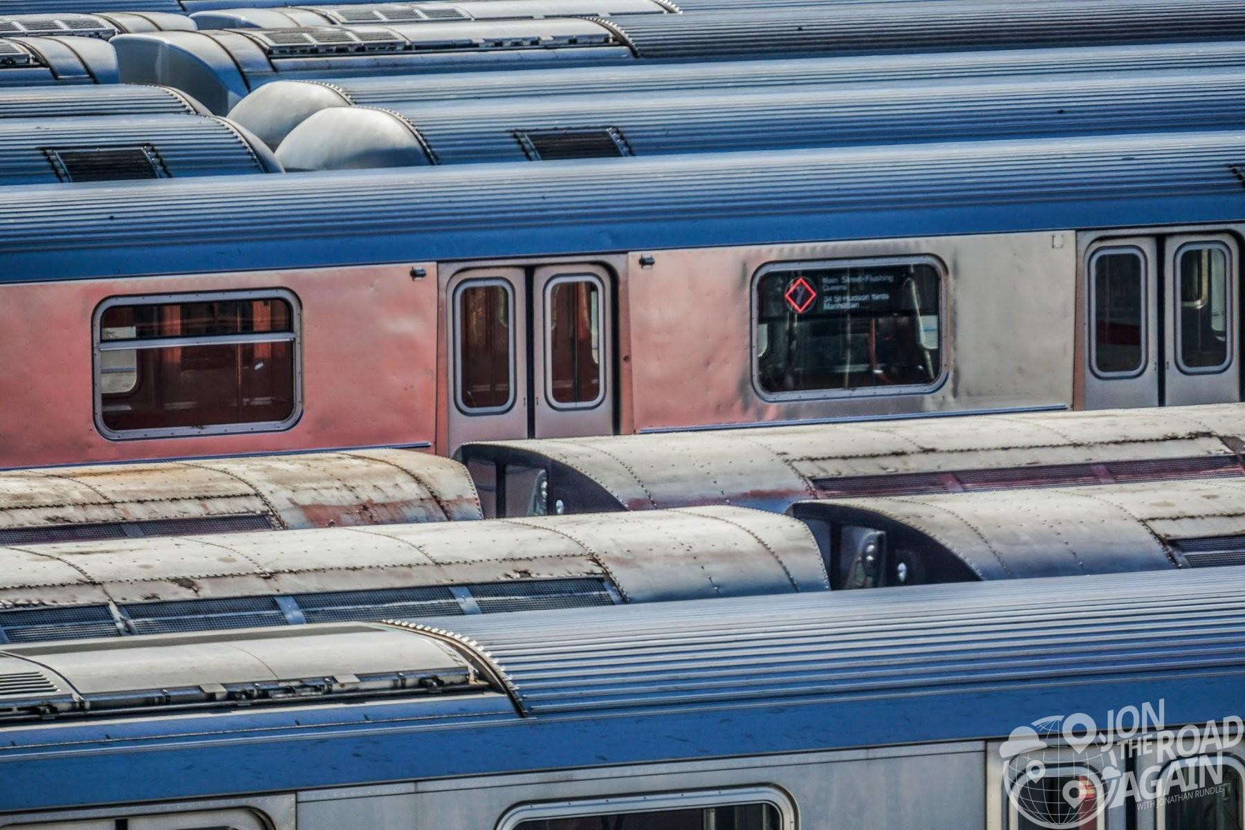 7 Line Subway Trains