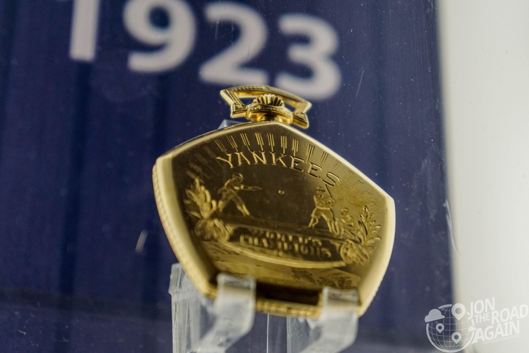 Yankees 1923 Championship Pocket Watch
