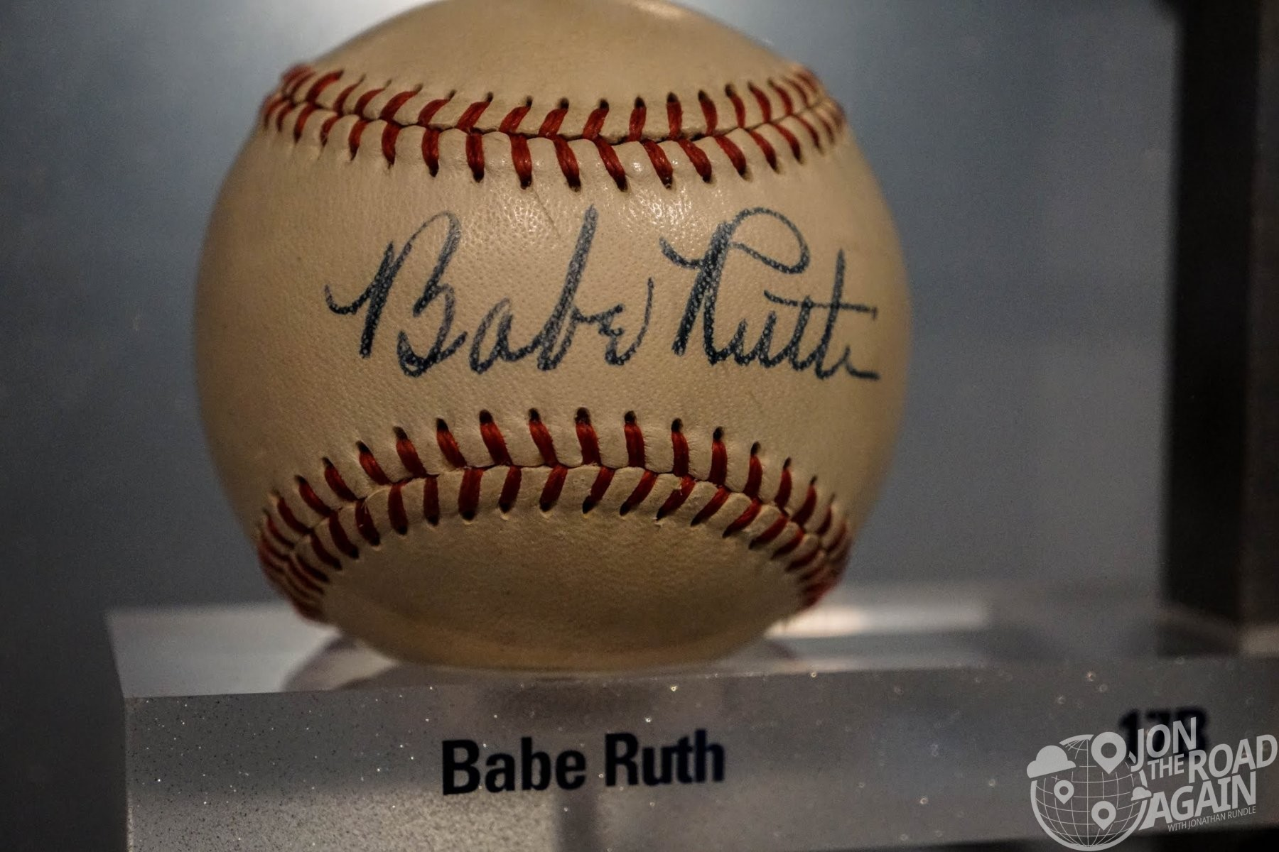 Babe Ruth autographed ball