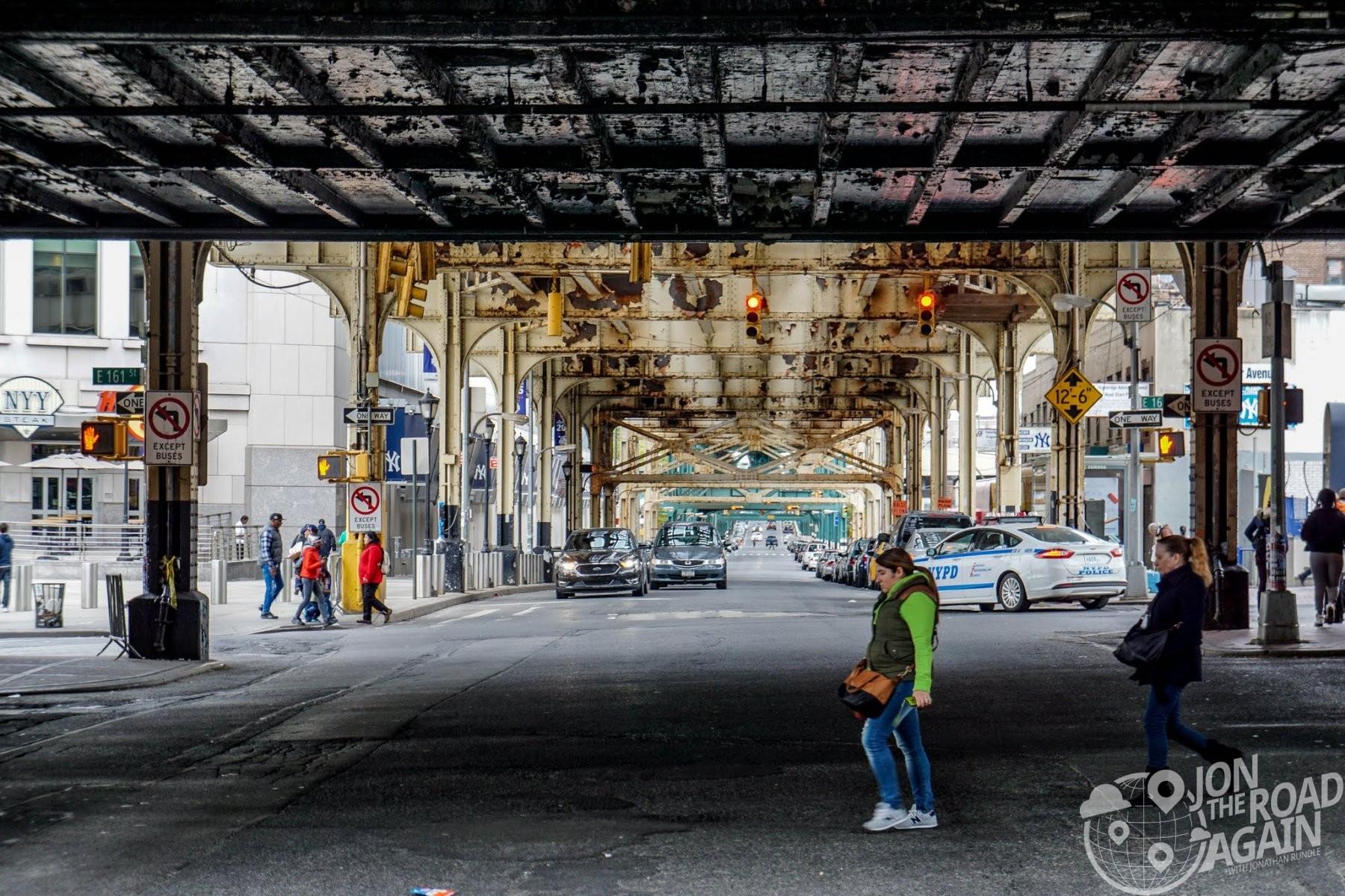 Street in the Bronx